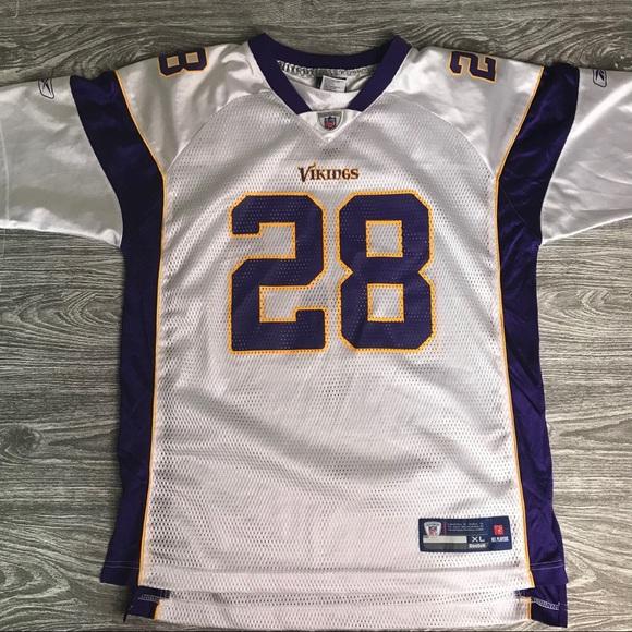 cheap for discount a3111 a098c ✅✅✅ Kids XL REEBOK MIN Vikings Peterson Jersey